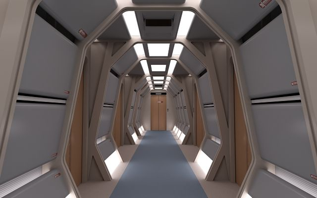 Enterprise D Interior Interiors Cutaways Pinterest Star