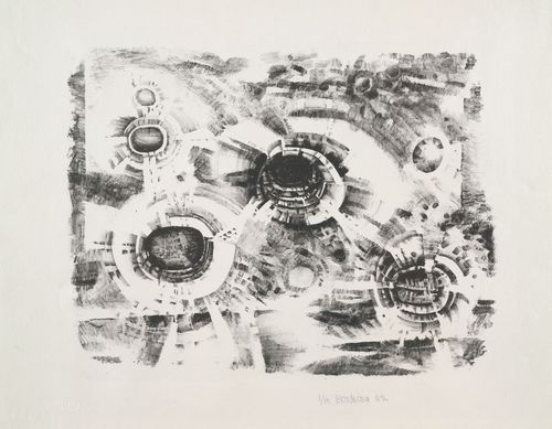 Do you know Lee Bontecou? She is my goddess. Got to catch her show if she is exhibiting nearby.