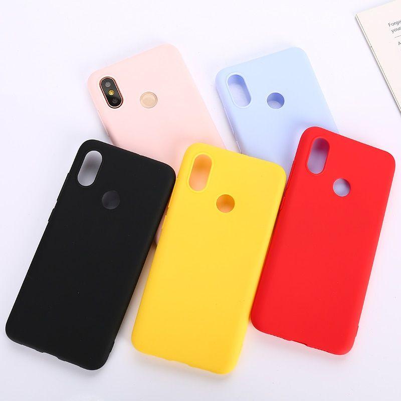 94cb8258144 Color TPU Silicone Case For Xiaomi Redmi Note 6 5 7 Pro Redmi 6 Pro ...