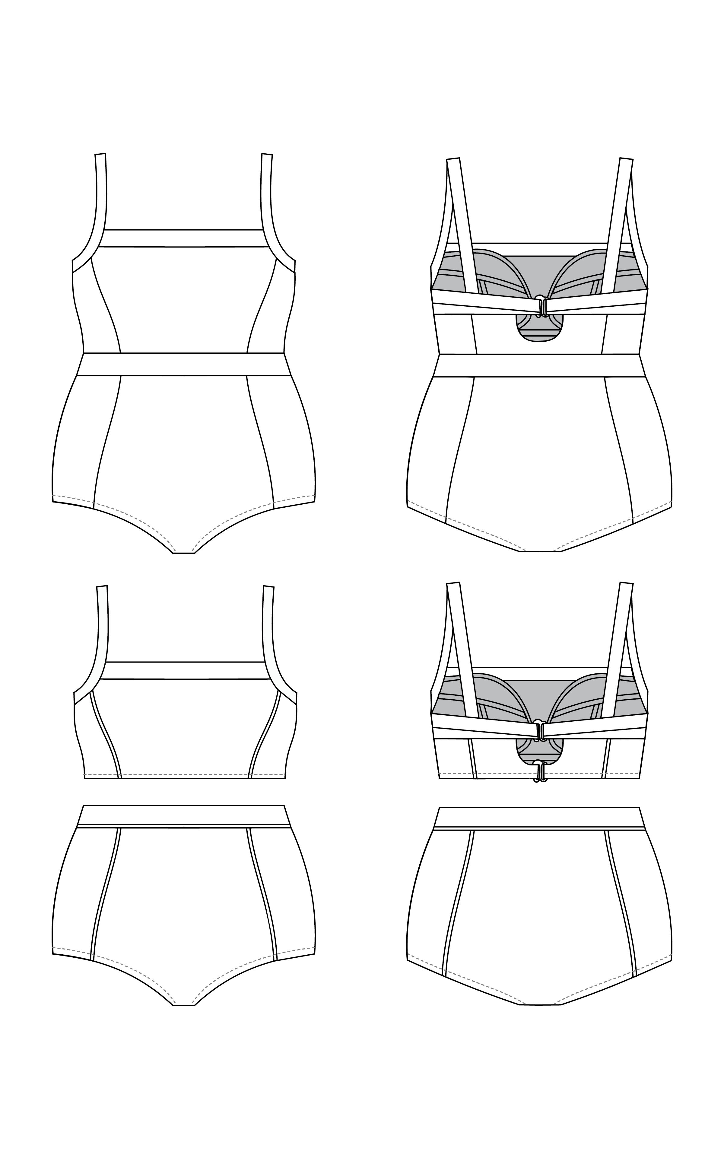 Ipswich Swimsuit Printed Pattern   Ipswich Swimsuit   Pinterest ...