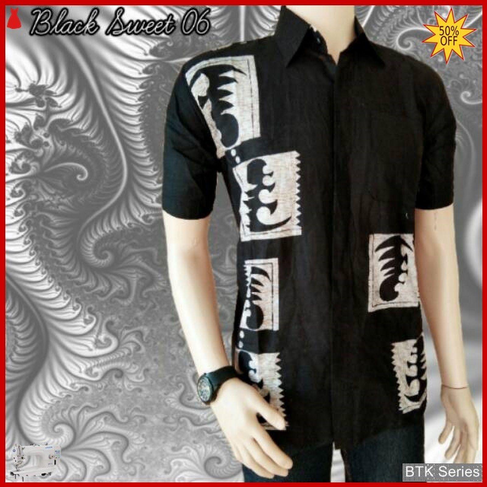 PIN Fashion Baju Hem Black Sweet 06 Modis