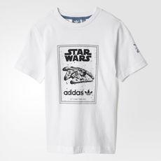 atesorar como una mercancía rara muy bonito Descubrir adidas - Camiseta Star Wars Millennium Falcon Junior   Adidas ...