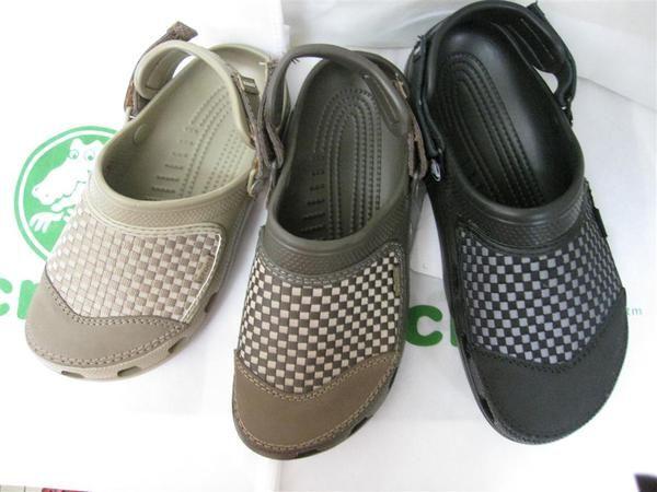 Sandal Pria Crocs Yukon Woven Pria Sepatu Anak Sepatu Wanita