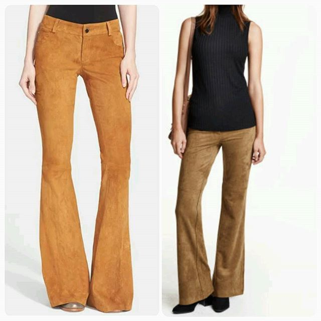 8341c16c271b Like that pair of $998 Alice + Olivia suede leather pants from Nordstrom?  LUV this