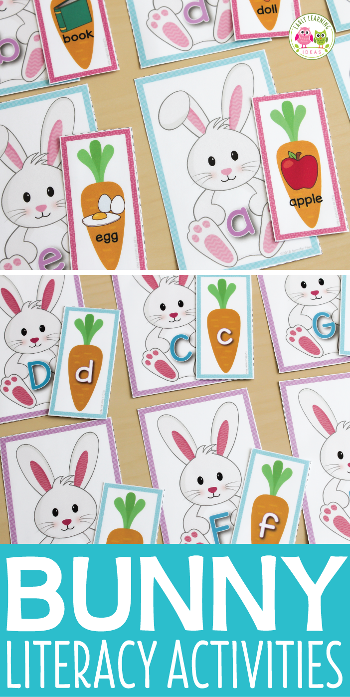 Bunny Worksheets Kindergarten