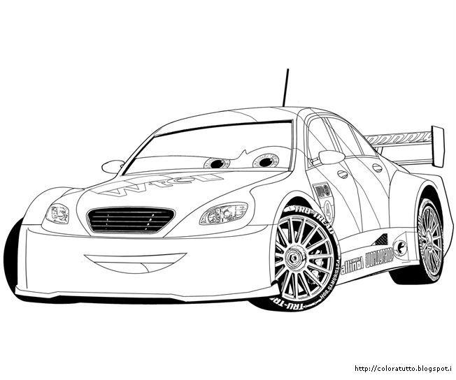Disegni Da Colorare Francesco Cars 2 | Timazighin