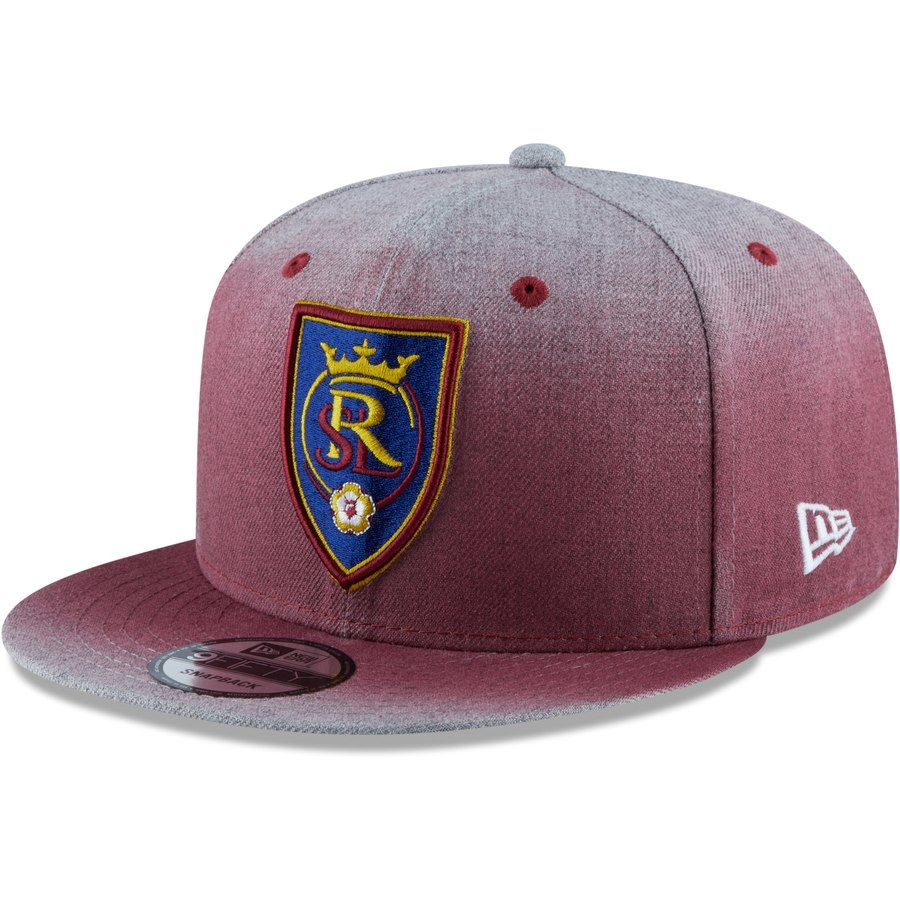 best service bd095 9523f Men s Real Salt Lake New Era Red Faded Heathered 9FIFTY Snapback Hat, Your  Price   29.99