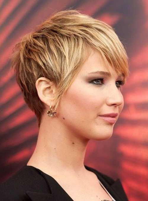 Jennifer Lawrence Pixie Cut Styles; smoldering eyes, spunky hair, bad ass beautiful babes