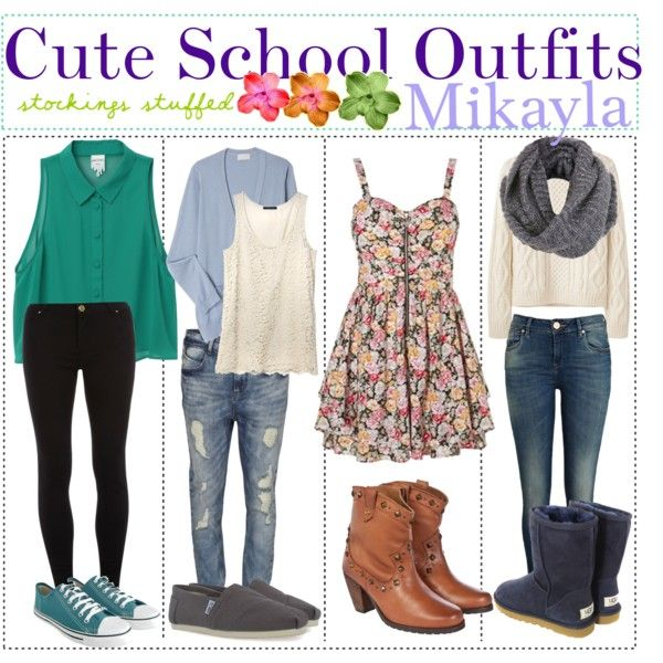 Cute school outfits Even says my name
