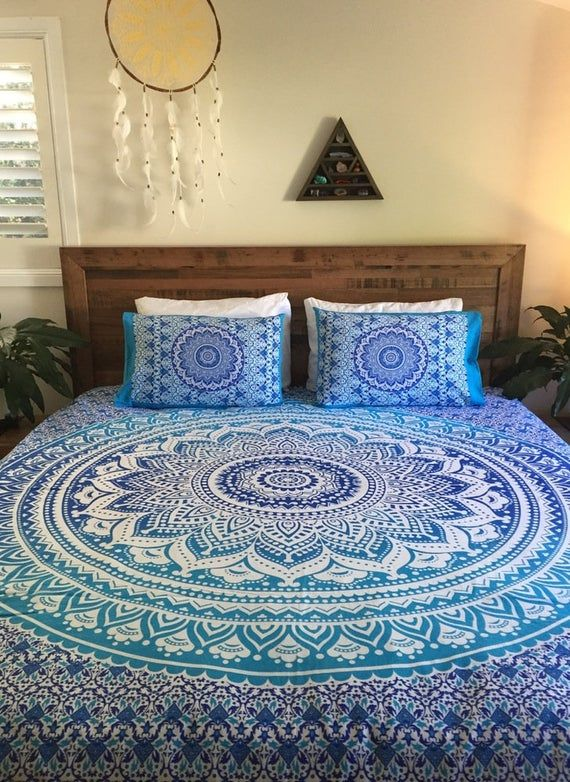 Bedding Set Mandala Bedding Cover Tapestry With Pillowcases Blanket Cover Bedspread Sets Boho Th Mandala Duvet Cover Green Duvet Covers Queen Size Duvet Covers