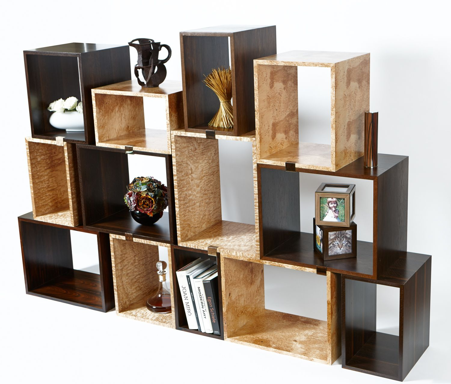 25 Cool Modular Home Office Furniture Designs: Cool Modular Bookshelf Desk Pics Design Inspiration