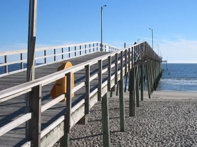 Pictures Of Long Beach Pier Oak Island North Carolina Nc