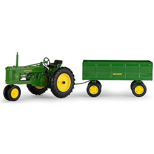 John Deere 50 Tractor with Flarebox Wagon (1:16 Scale) *** This is ...