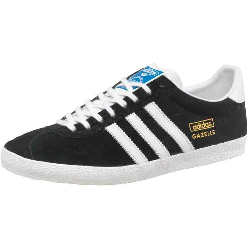 f4d9f45b18 Love classics you can t beat Adidas Gazelle OG trainers in black white met  gold