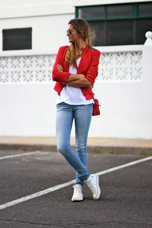 Marilyn's Closet - FASHION BLOG: Red Jacket