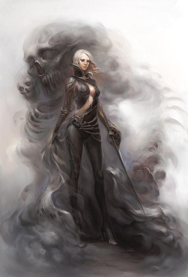Evil Spirit by ChocoFing - CGHUB via PinCG.com | NPC FM ...