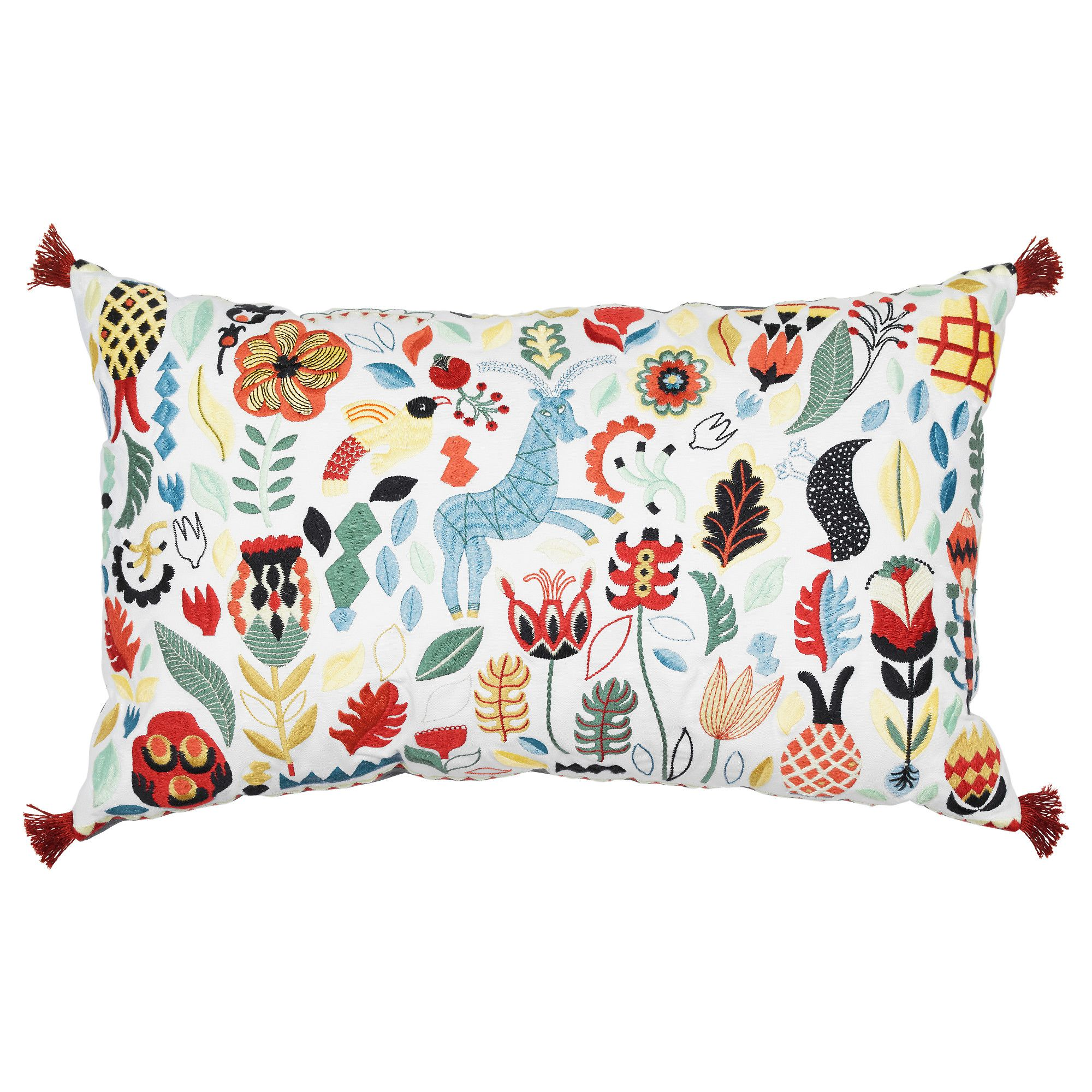 RÖDARV Cushion, multicolor | Luster, Living room ideas and Living rooms