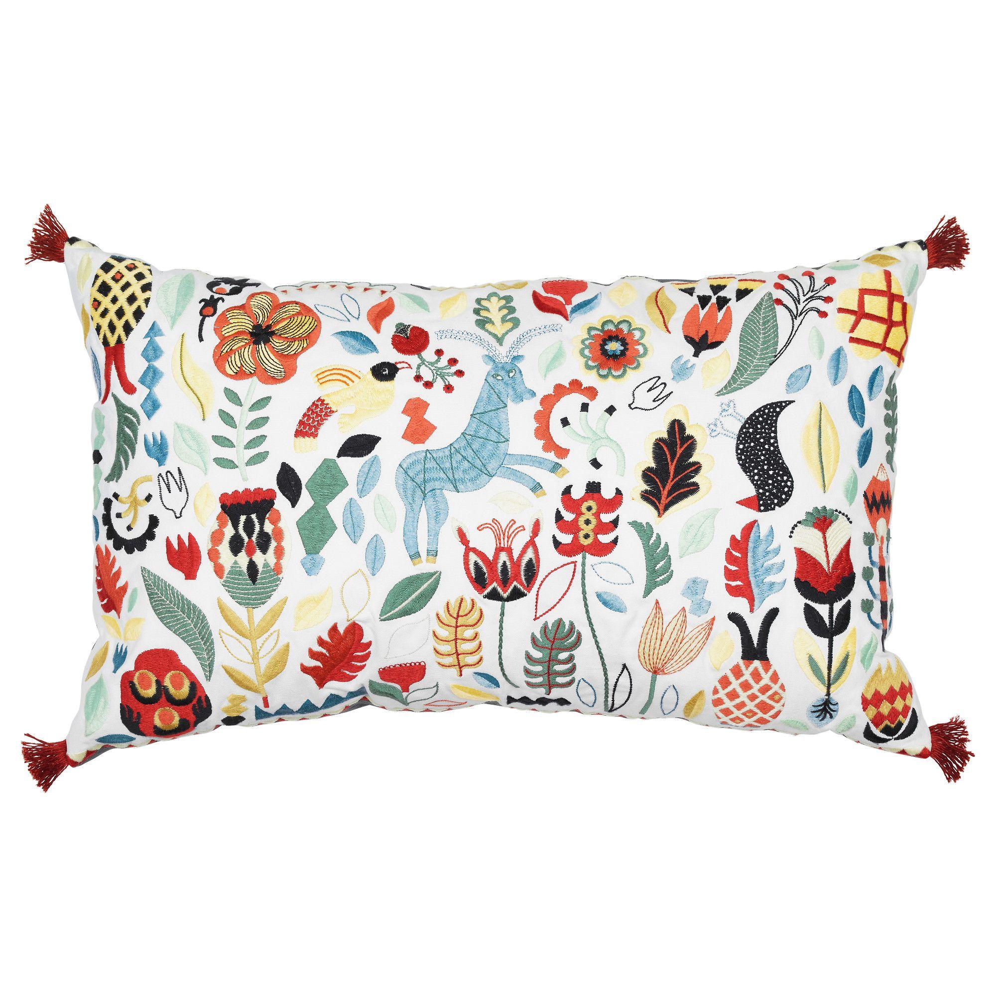 RÖdarv Cushion Multicolor 16x26 Cushions Ikea