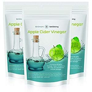 Apple Cider Vinegar Tablets 500mg - Mother Capsules - Weight Loss for Men Women 60 Tablets Cupboard Pasta-Pulses Cupboard Spices-Seasonings Cupboard Minerals-Supplements Capsules