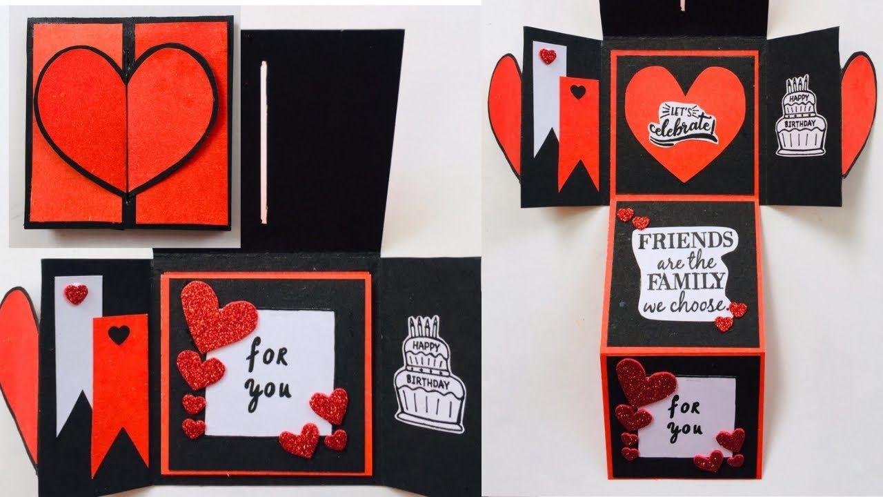 Beautiful Handmade Birthday Card Ideas For Best Friend How To Make Beaut In 2021 Beautiful Birthday Cards Birthday Cards Cards Handmade