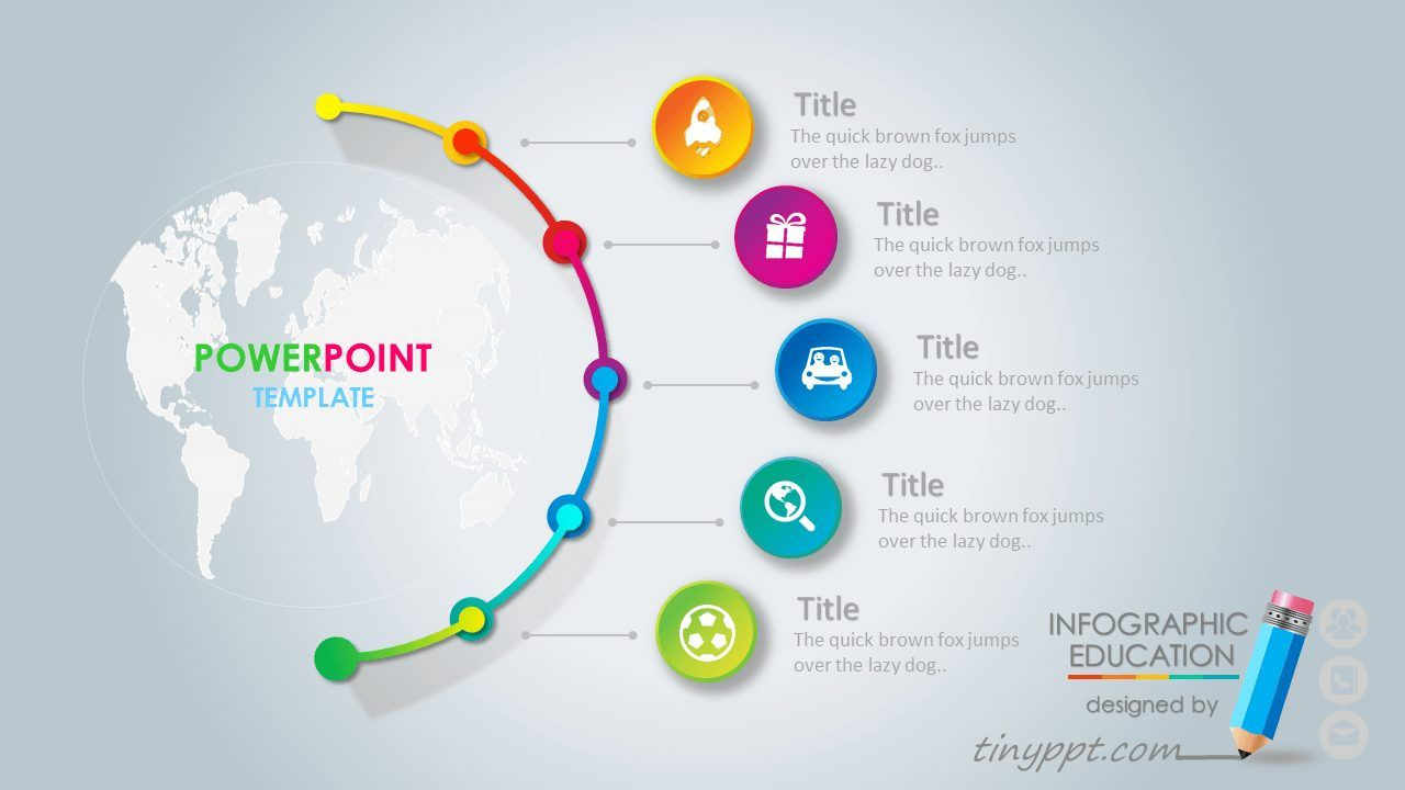 professional powerpoint animated templates deck design pinterest