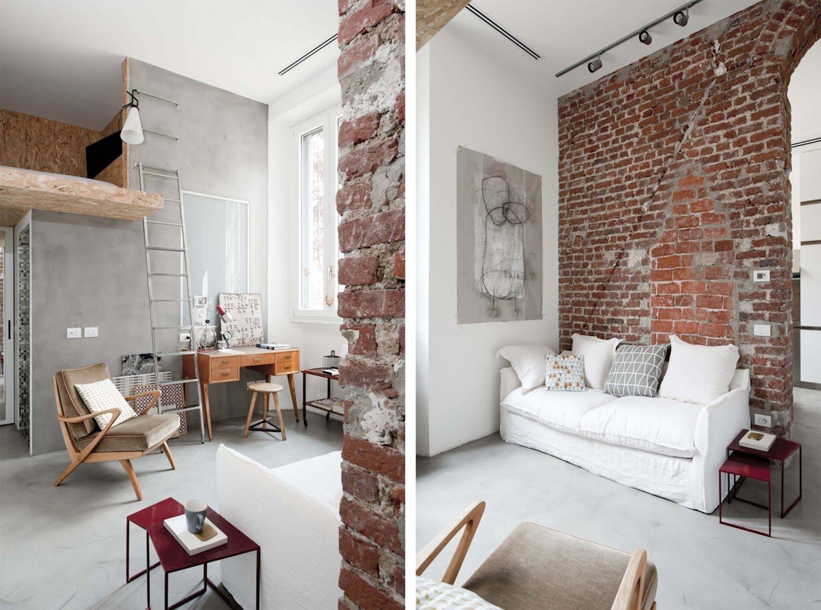 Mini Appartamento Di 30mq Con Soppalco | Dd Arc Art