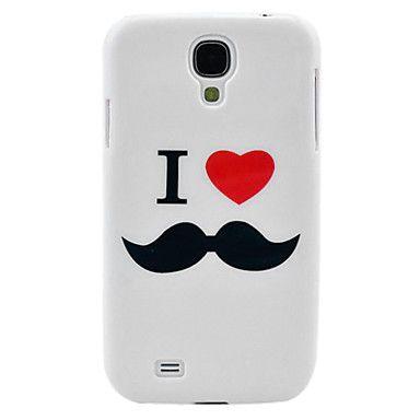 J'aime la moustache Designs dur pour Samsung Galaxy i9500 S4 – EUR € 3.67