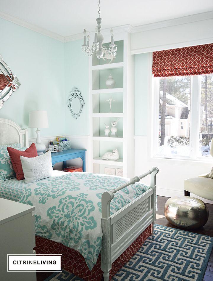 Simple Bedroom Updates a refreshing bedroom update | benjamin moore, bedrooms and kitchen
