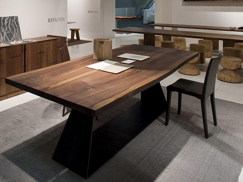 RIVA Bedrock Plank C Riva Tavolo 装修 Pinterest - Bedrock marble dining table