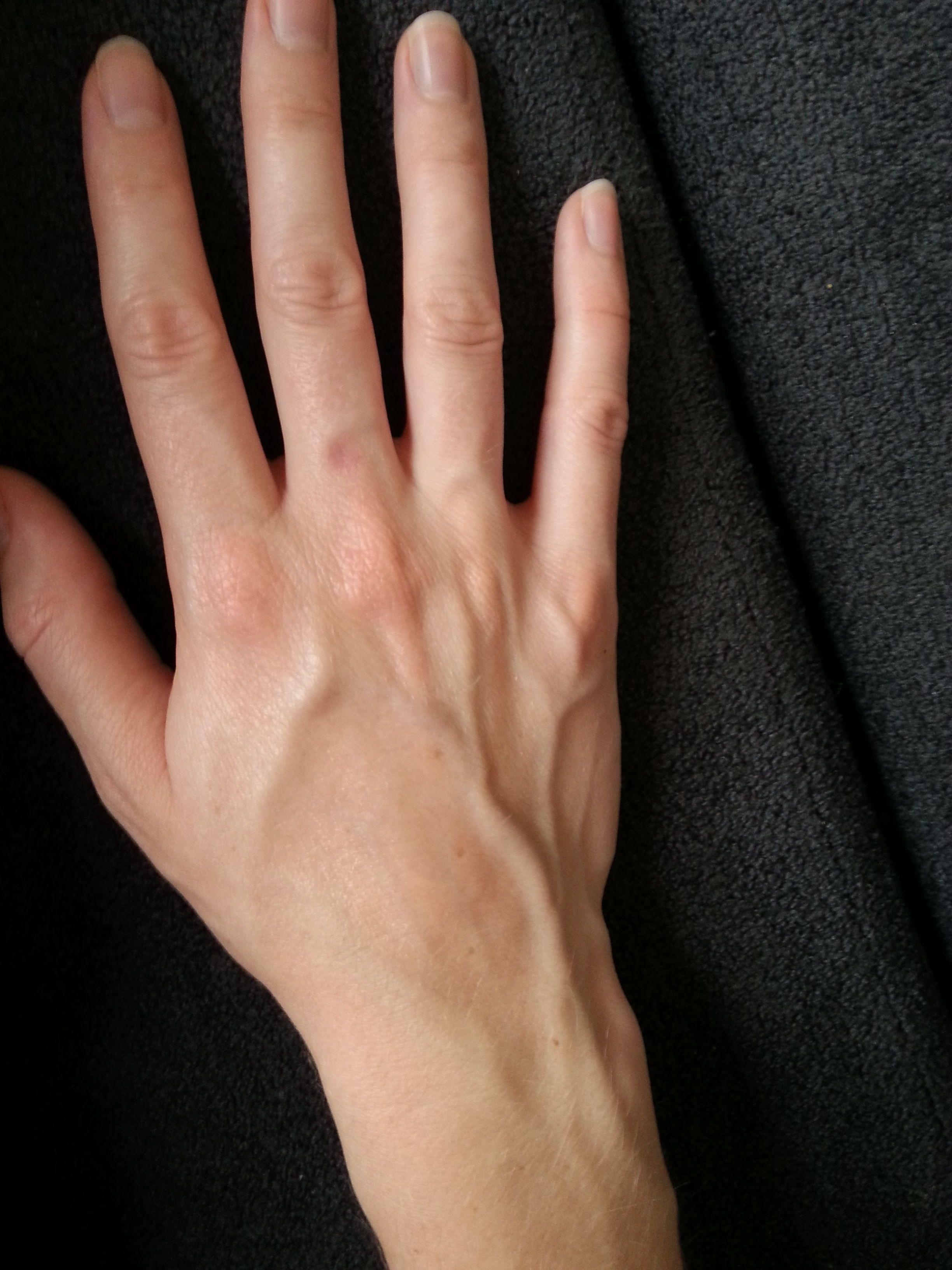 Veiny Hands Hands Body Sculptures
