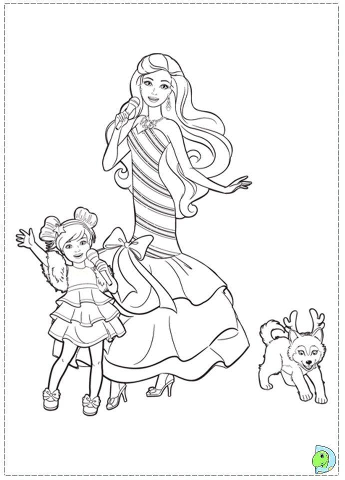 Barbie Christmas Carol Coloringpage 08 Jpg 691 960 Mermaid Coloring Pages Christmas Coloring Pages Free Kids Coloring Pages