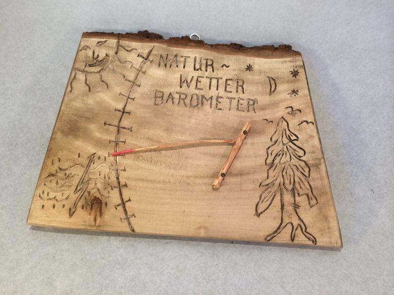natur barometer von flussholz auf geschenkideen aus treibholz pinterest. Black Bedroom Furniture Sets. Home Design Ideas