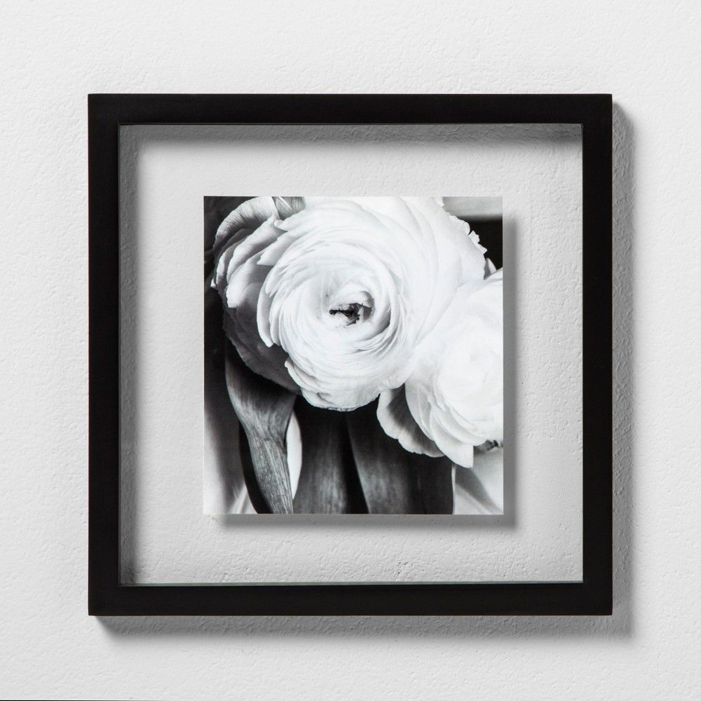 12 X 12 Single Picture Float Frame Black Made By Design In 2019 Products Floating Frame Frame Home Decor Pictures