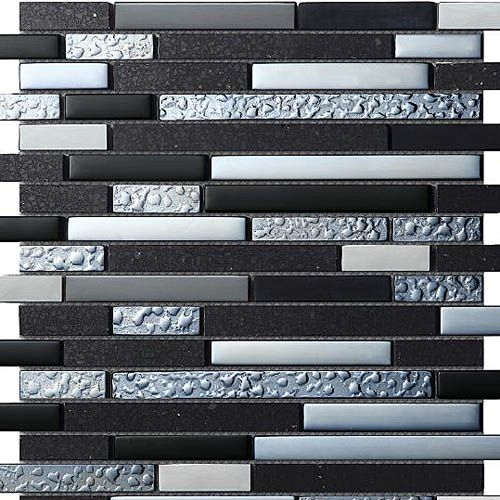 Gl Metal Quartz Galaxy Mosaic Tiles From The Astro Range By Bejewelled