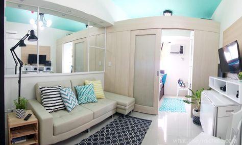 Design Project: Light and Airy 23 SQM Condo Unit in Makati