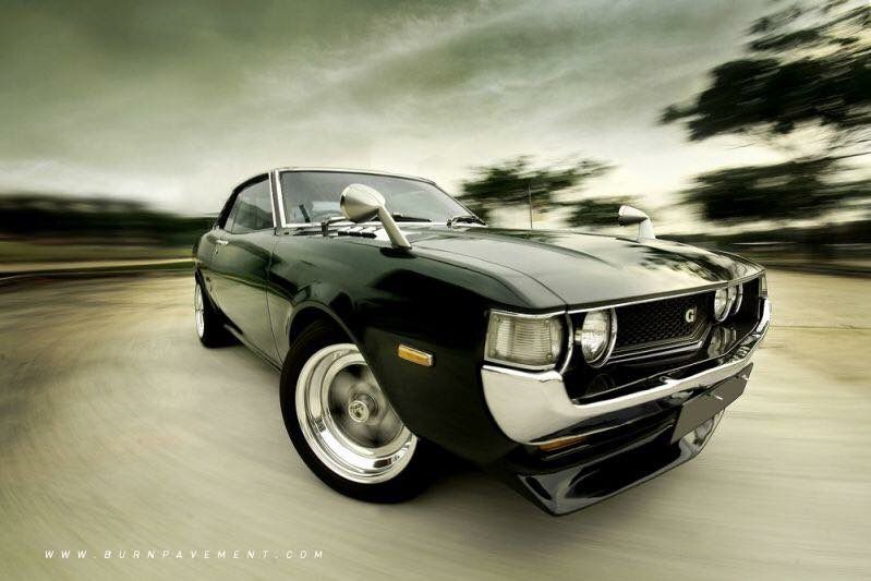 Creating the cool factor since 1937! TBT Toyota Celica
