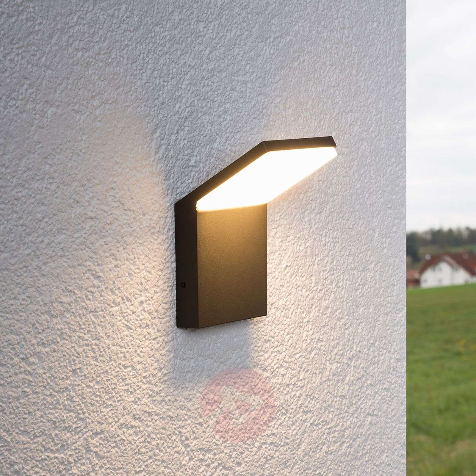 Nevio Zewnetrzna Lampa Scienna Led Led Outdoor Wall Lights Wall Lights Outdoor Wall Lighting