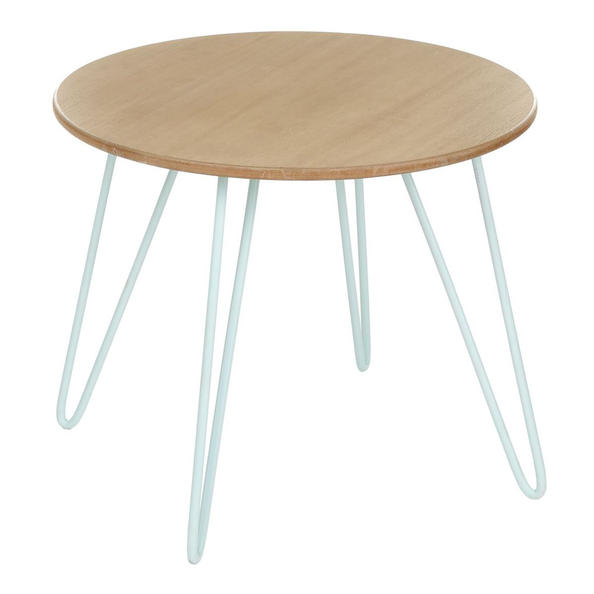 Table Basse Ronde Bleue Metsa 48 X H 40 Cm Avec Images Table