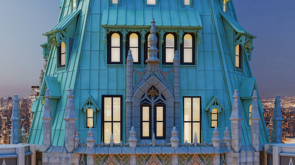The Story Behind The Woolworth Building S Most Expensive Listing Woolworth Building Building Penthouse For Sale