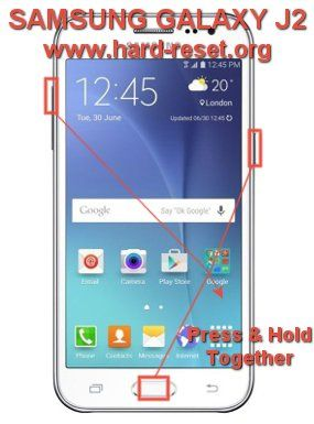 Hard Reset SAMSUNG GALAXY J2 with easy steps  This phone
