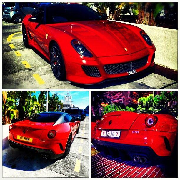 Ferrari #599 #GTO #Monaco #Supercars #Car #Car #Luxe #French ... on