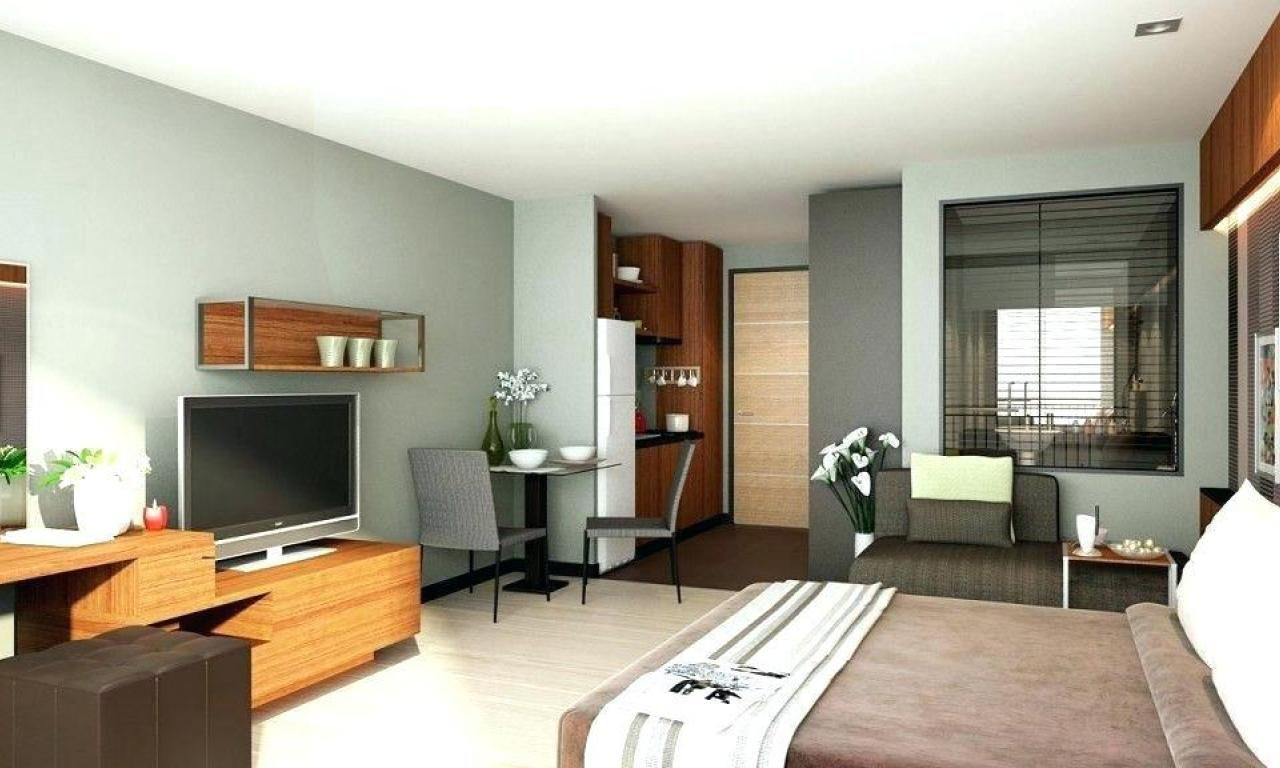 Studio Type Condo Design Interior Ideas Unit Room And Decoration