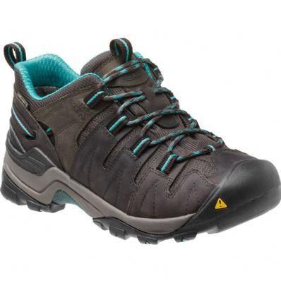 Keen Women's Shoes GYPSUM - Hiking shoes - raven/baltic