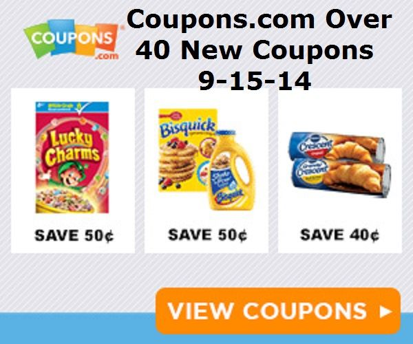 """Coupons.com-New Coupons September 15,2014 Over 40 new and reset  coupons have come out from Coupons.com over the last couple of days! Tons of new """"HIGH VALUE TOY COUPONS"""",Old Spice,$4 off ZYRTEC,COVERGIRL,Charmin and TONS more!! http://domesticdivascoupons.com/coupons-com-new-coupons-september-152014/"""