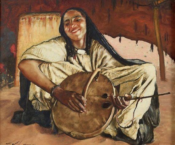 Musicienne von Paul Elie Dubois