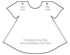 girl dress template
