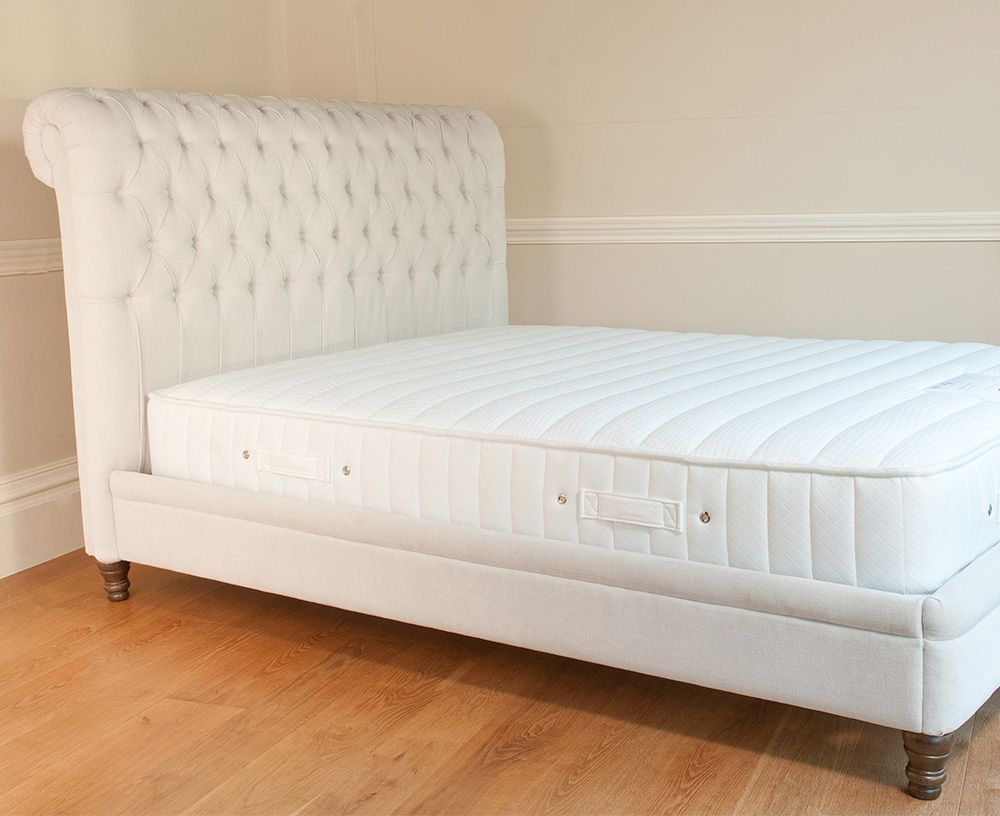 p> The beautiful Ella upholstered bed is a classic yet contemporary ...