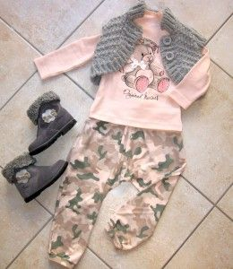 Nuovo outfit: http://www.mammachegioia.it/outfit-military-baby-girl/