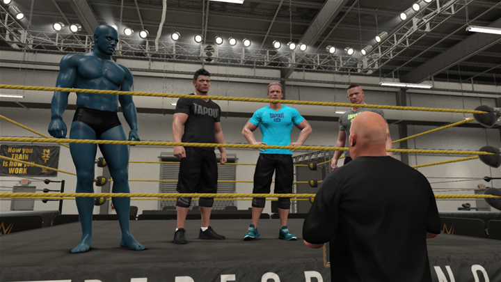 WWE 2k17: Dr. Manhattan signs up for NXT ????
