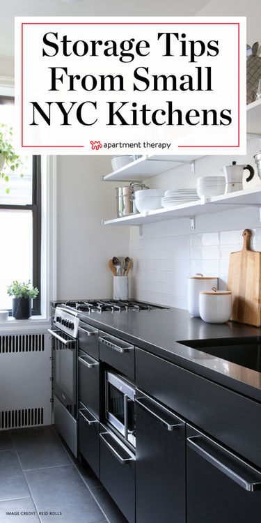 Small Kitchen Survival Secrets from Stylish NYC Homes ...